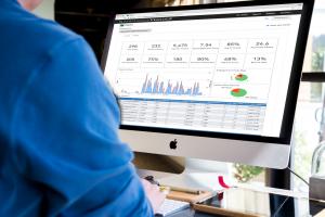 Measure content performance using Knovio's interactive Analytics Dashboard