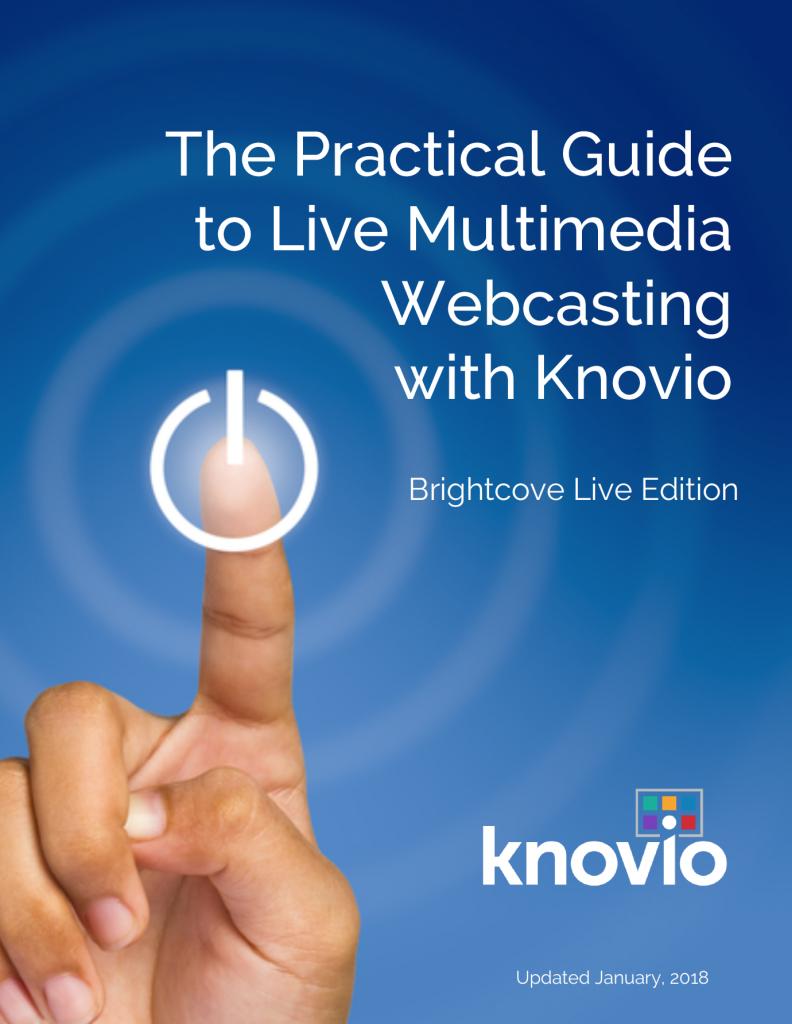 GuideCover-Knovio-Live-Multimedia-Webcasting