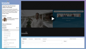 Publish your first video presentation with a custom template