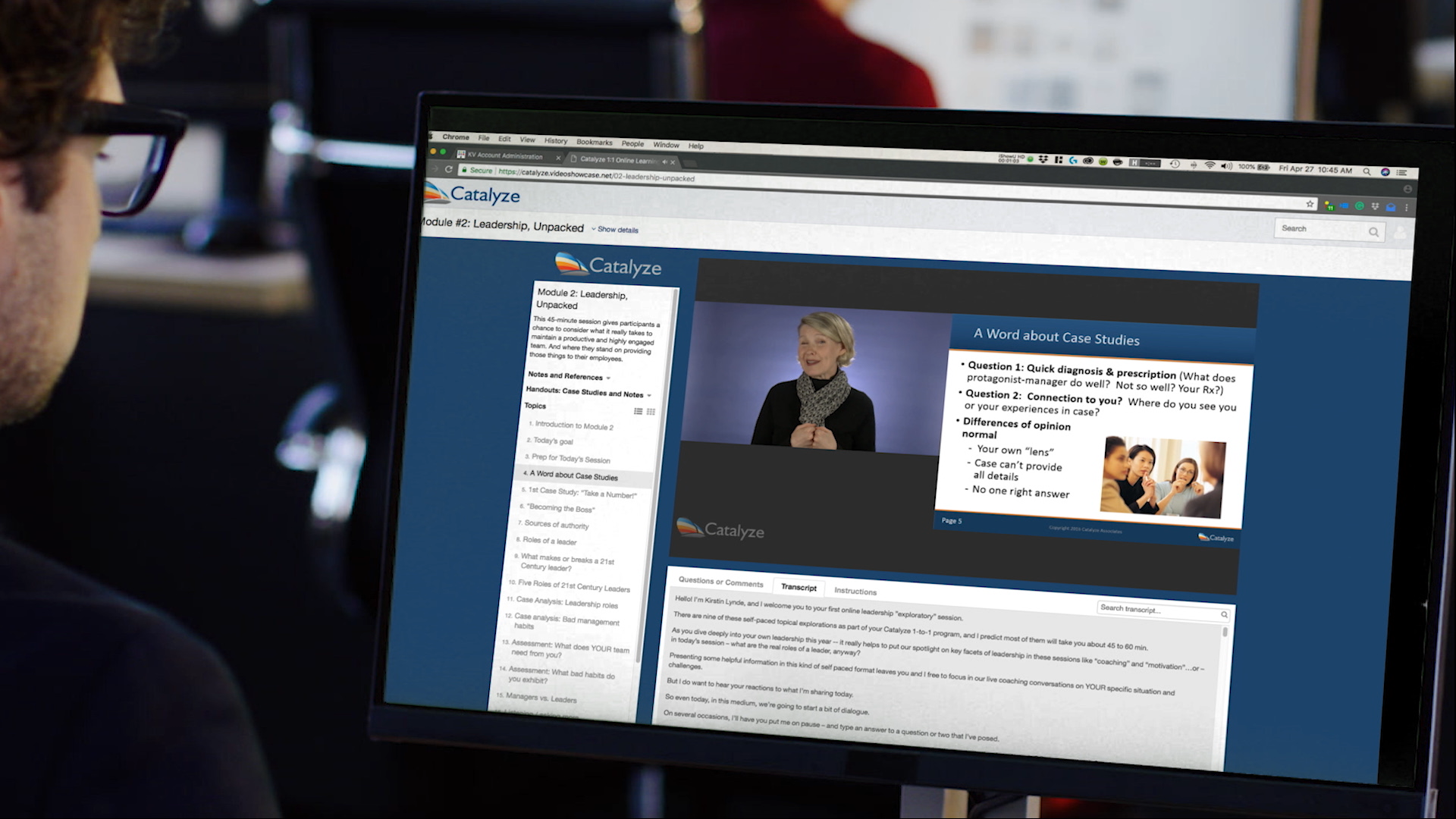 Create interactive experiences with an online video presentation maker